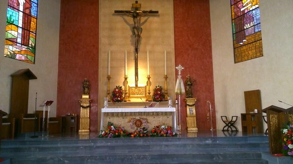 Parroquia de san diego de Alcalá Sevilla
