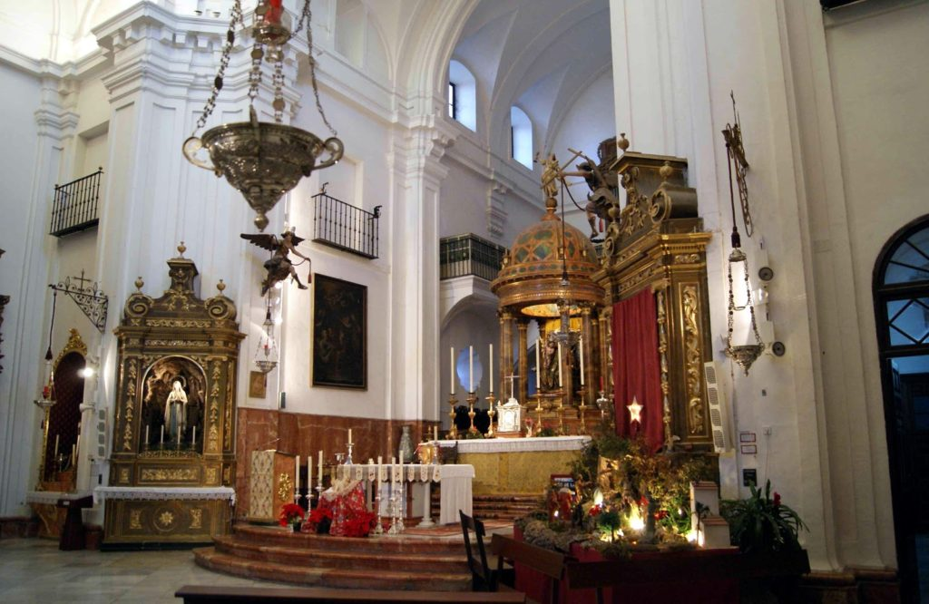 Iglesia Santa Cruz. Sevilla. Fuente: Leyendas de Sevilla