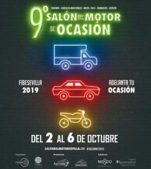 9º Salón del Motor de Ocasión de Sevilla 2019. Fibes