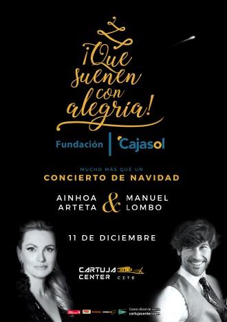 Aionha Arteta & Manuel Lombo – Que suenen con alegría – Cartuja Center