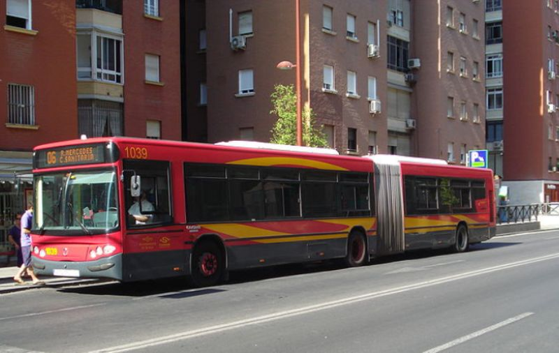 Autobús urbano de Sevilla