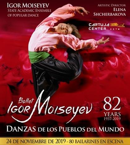 Ballet Igor Moiseyev – Sevilla 2019