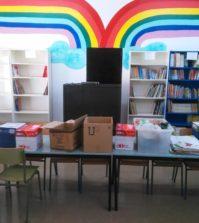 Biblioteca escolar. Colegio Nuestra Señora de la Paz.