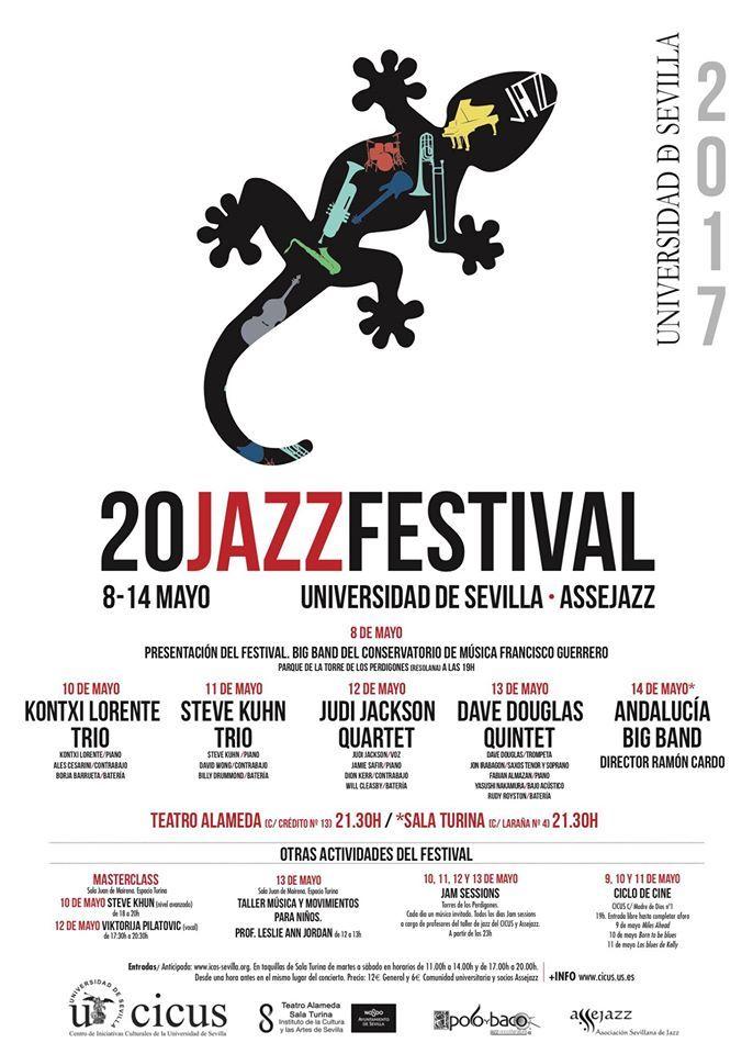 20 FESTIVAL DE JAZZ UNIVERSIDAD DE SEVILLA 2017 · ASSEJAZZ