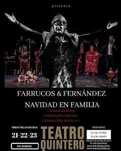 FARRUCOS & FERNÁNDEZ Navidad en familia – Teatro Quintero Sevilla