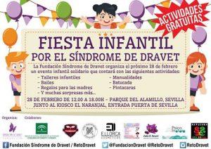 Fiesta Infantil por el Dravet en Sevilla