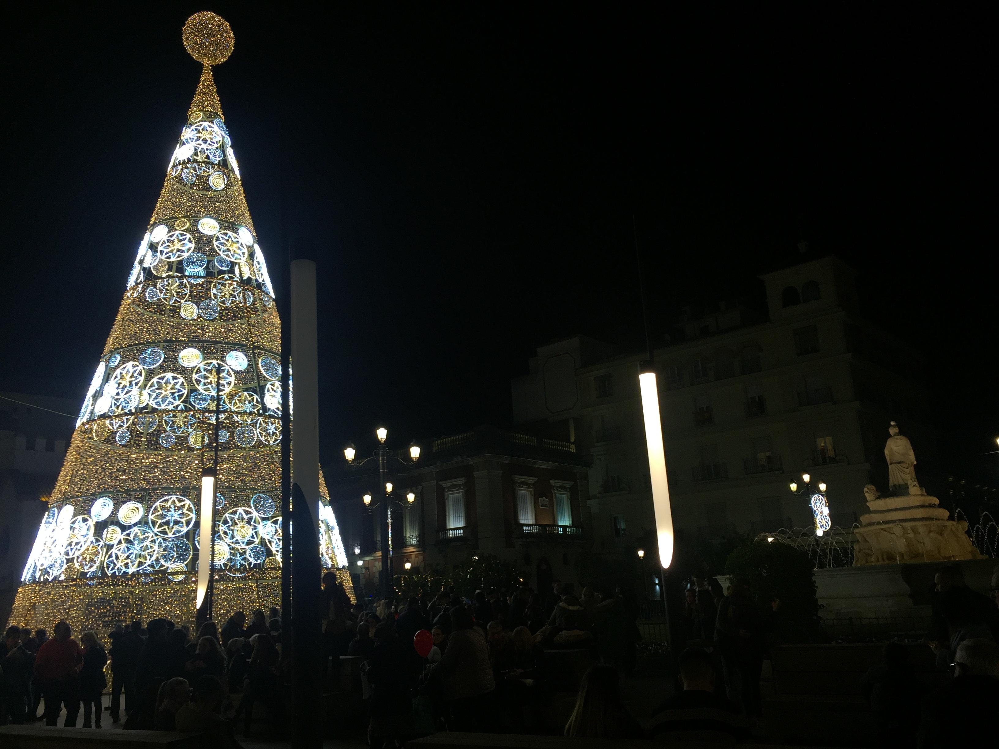 Christmas tree in Crocus City 2018 - 2019 85