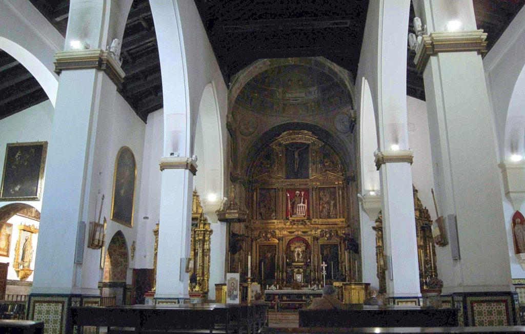 Iglesia San Lorenzo. Sevilla.Fuente imagen: Leyendas de Sevilla.