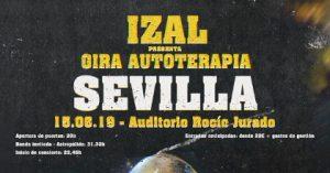 Izal Gira Autoterapia 2019 – Auditorio Rocío Jurado