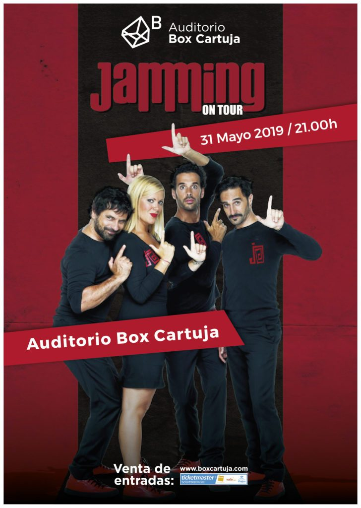 Jamming-ontour-auditorio-box-cartuja-sevilla-2019