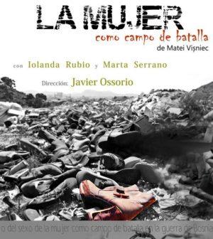 La mujer como campo de batalla. Teatro Fundición, Sevilla