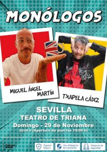 MIGUEL ÁNGEL MARTÓN Y TXAPELA CÁDIZ – Sevilla