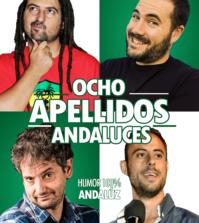 Cartel de la obra de teatro Ocho apellidos andaluces