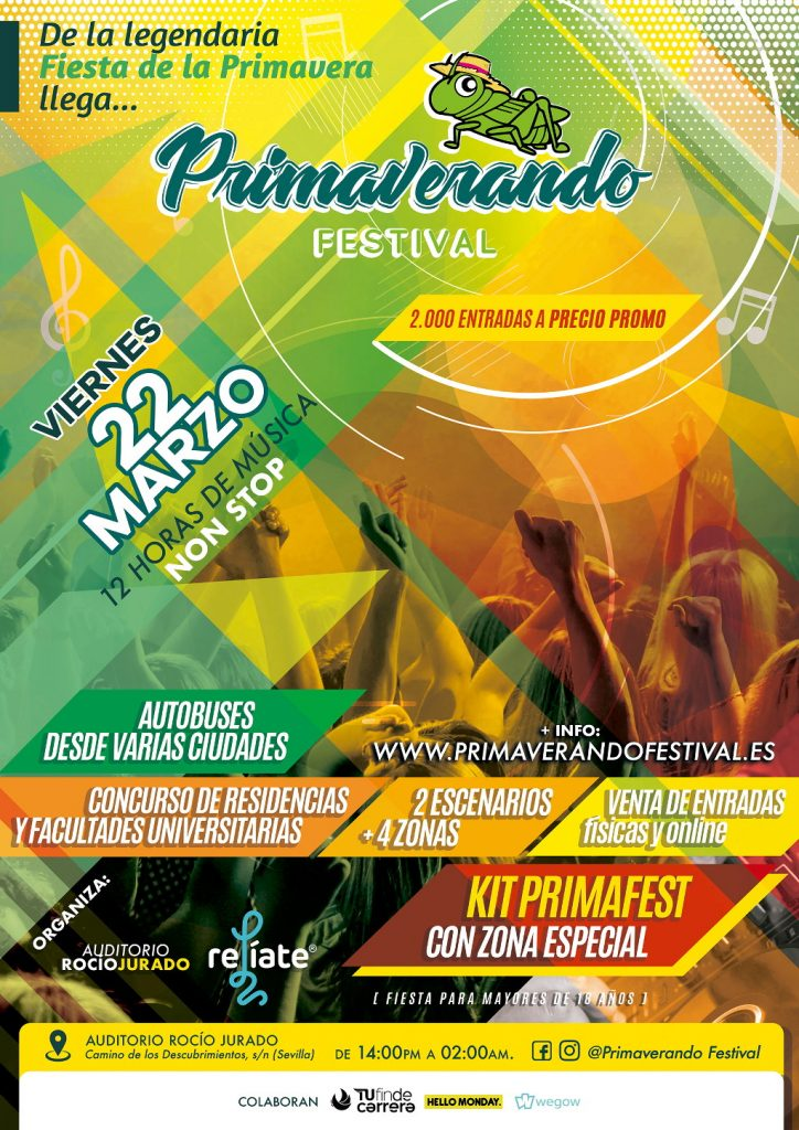 Primaverando Festival Sevillla 2019