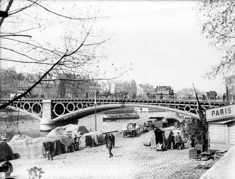 Puente del Carrousel de Paris