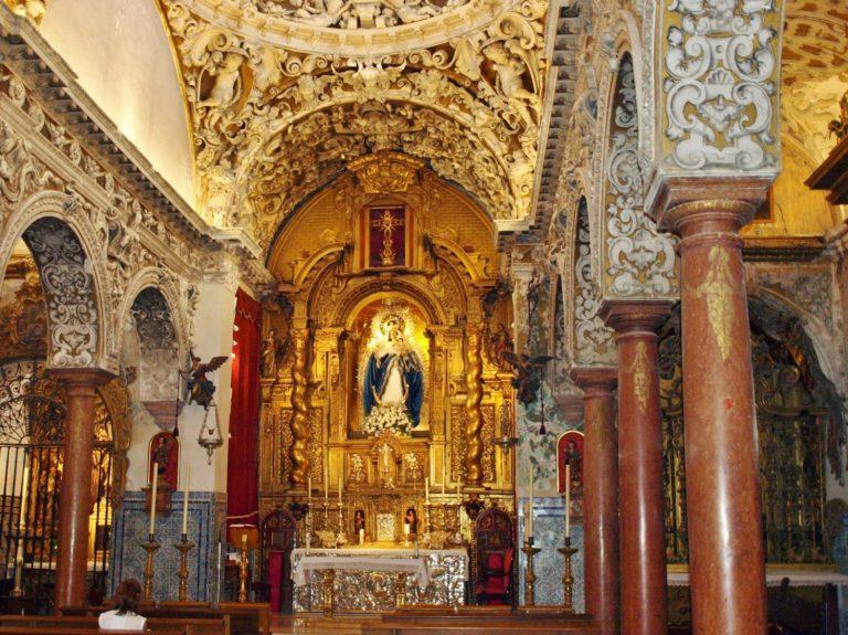 Iglesia Santa Maria la Blanca. Sevilla
