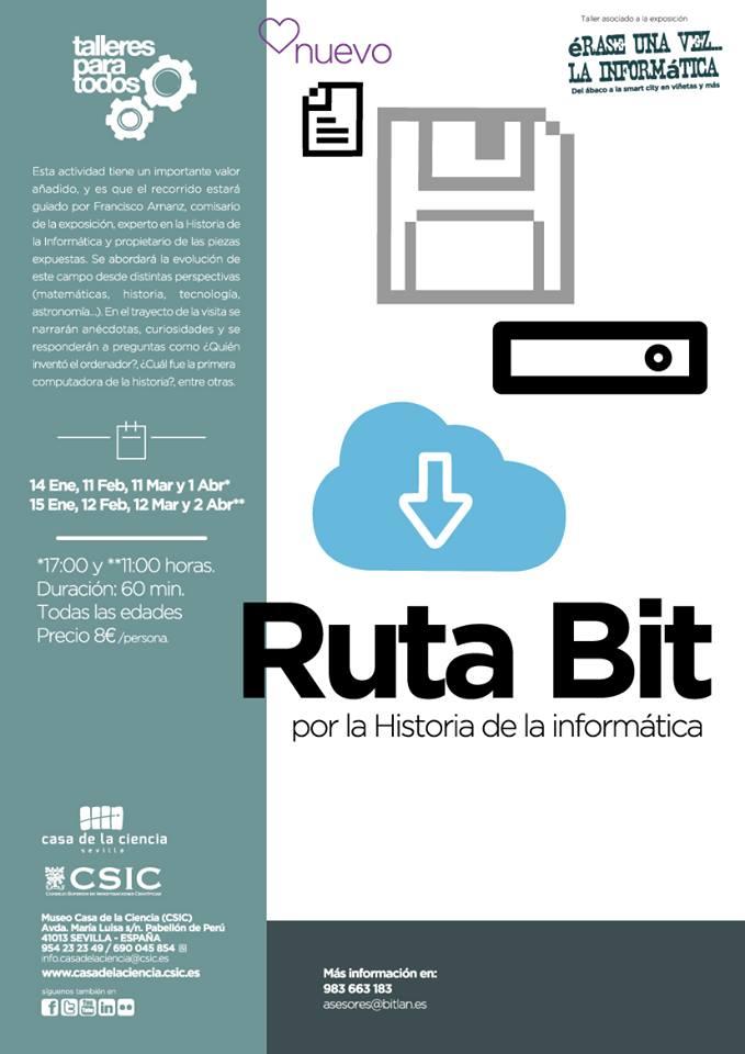 RutaBitporlahistoriadelainformatica–CasadelaCienciaSevilla