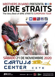 TRIBUTO A DIRE STRAITS – BROTHERS IN BAND – CARTUJA CENTER