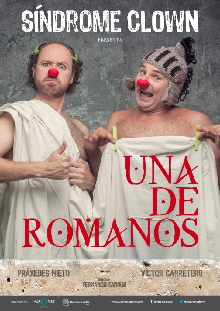 Una de Romanos. Comedia de Síndrome Clown en Sala Cero Teatro Sevilla