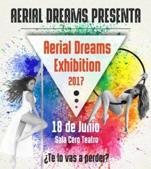 Aerials Dreams Exhibition. Sala Cero Teatro, Sevilla
