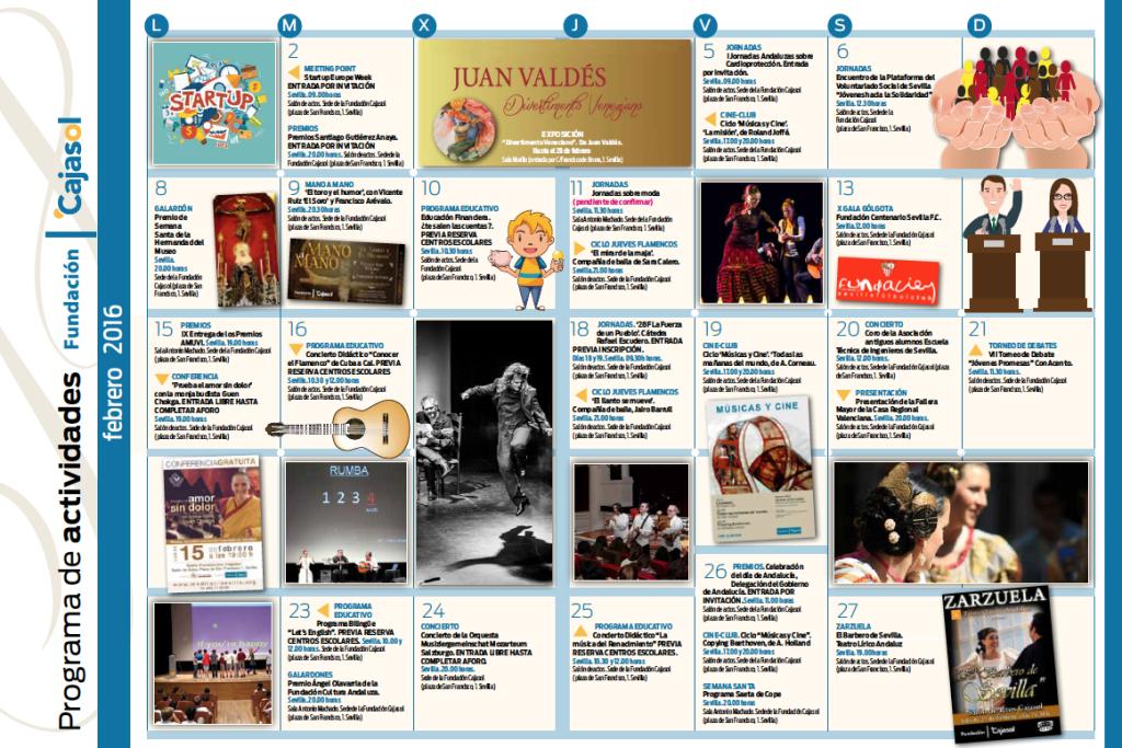 agenda-actividades-fundacion-cajasol-febrero-2016