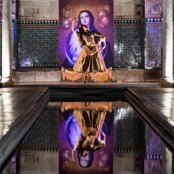 Teatralización en el Real Alcázar de Sevilla