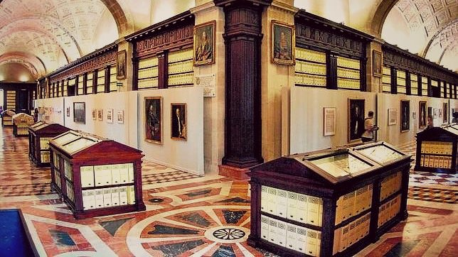 Interior del Archivo de Indias. Sevilla. Fuente: ABC Sevilla