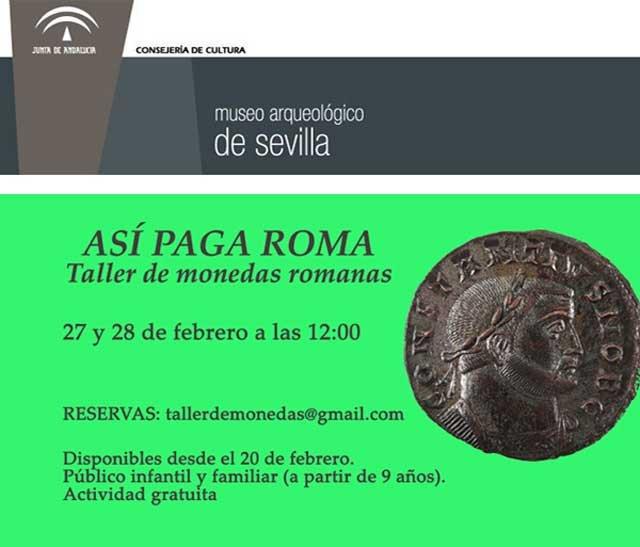 asi-paga-roma-taller-museo-arqueologico-sevilla-cartel