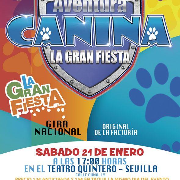Aventura Canina Cachorros en Acción – Teatro Quintero