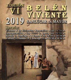 Belén viviente de Sanlúcar la Mayor 2019. Navidad en Sevilla