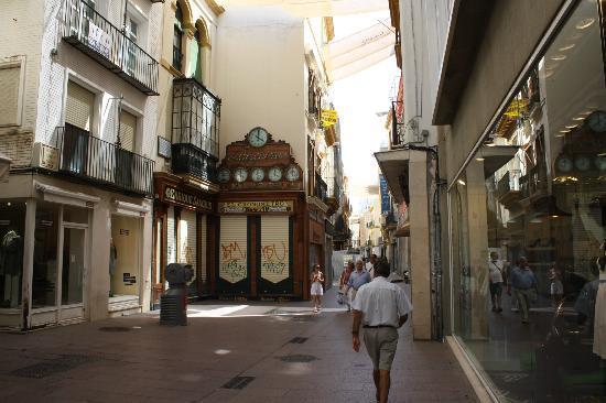 Vista actual de la calle Sierpes de Sevilla.