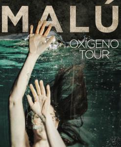 Concierto Malú Oxígeno Tour. Fibes Sevilla.