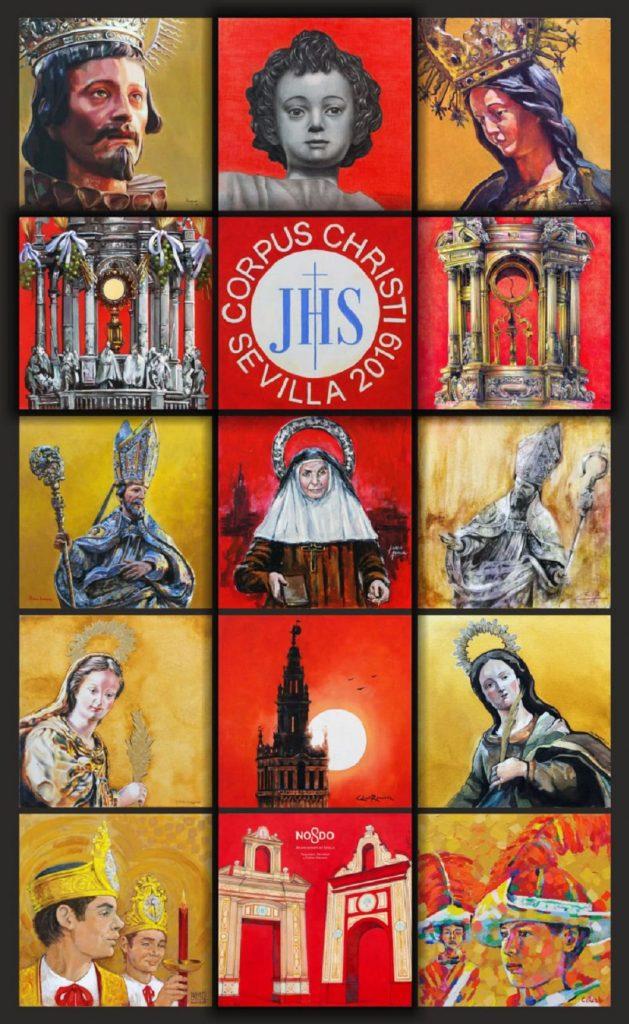 Cartel Corpus Christi Sevilla 2019