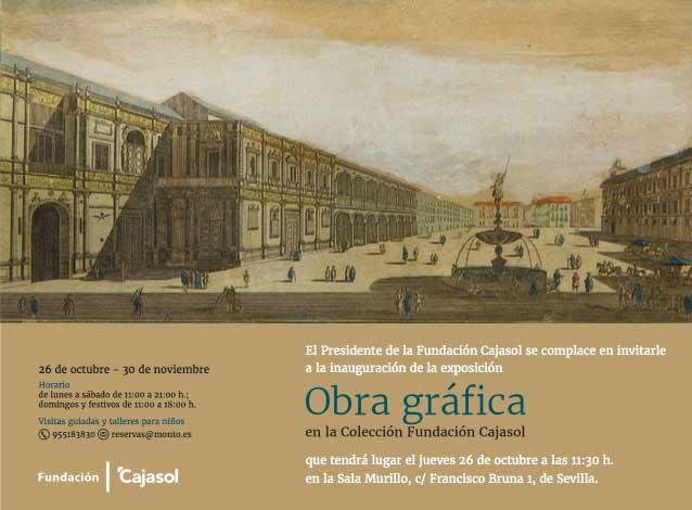 cartel-exposicion-obra-grafica-coleccion-fundacion-cajasol