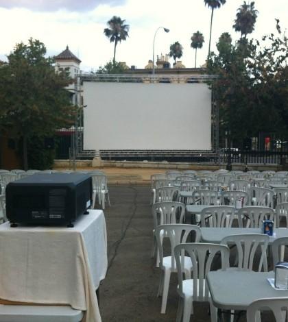 Cine de verano en el Parque de María Luisa
