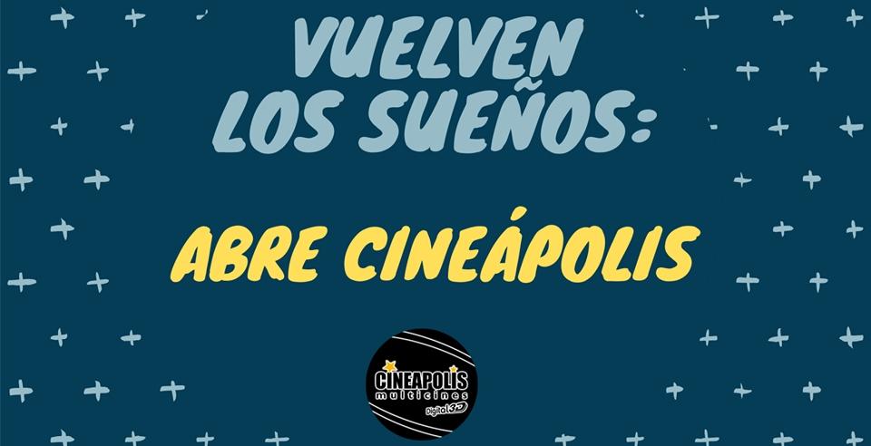 Cines Cineapolis Dos Hermanas, Sevilla, vuelve a abrir sus puertas