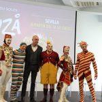 Cirque du Soleil · Varios artistas presentan en Sevilla el nuevo espectáculo Kooza