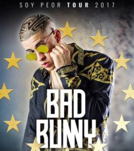 Concierto Bad Bunny Tour 2017 en Sevilla. Auditorio Rocío Jurado