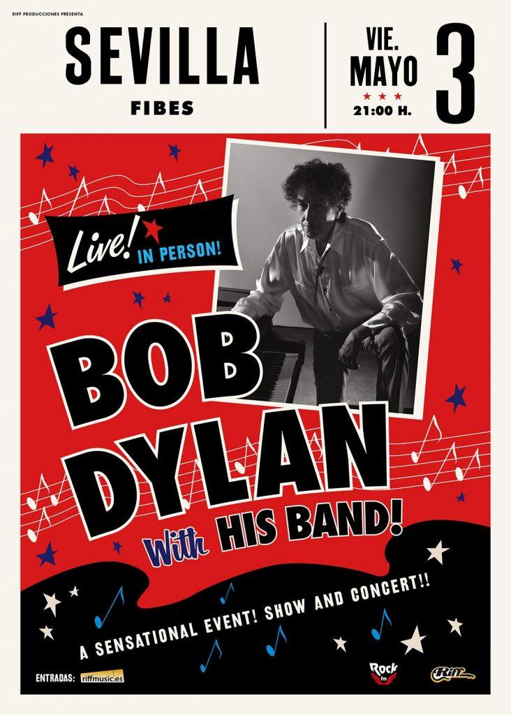 Concierto de Bob Dylan en Sevilla. Fibes 2019