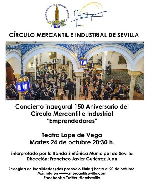 concierto-conmemorativo-150-aniversario-circulo-mercantil-teatro-lope-vega-sevilla-cartel