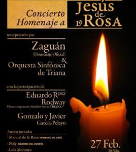 """Rock Andaluz"". Homenaje a Jesús de la Rosa, la llama viva. Teatro Lope de Vega, Sevilla"