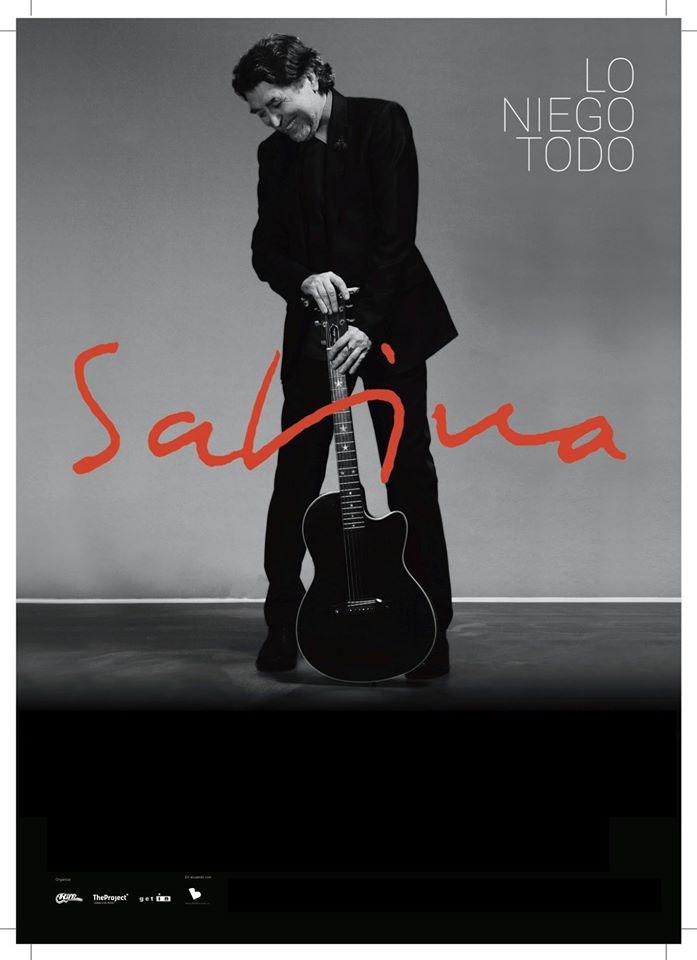 Concierto de Joaquin Sabina en Sevilla. Gira Lo Niego Todo Junio 2017