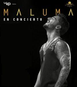 Concierto Maluma World Tour 2017 en Sevilla. Auditorio Rocío Jurado