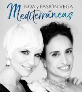 Concierto de Noa y Pasión Vega en Sevilla: Mediterráneas