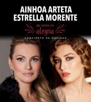Concierto ¡QUÉ SUENEN CON ALEGRÍA! Ainhoa Arteta & Estrella Morente. Teatro de la Maestranza, Sevilla