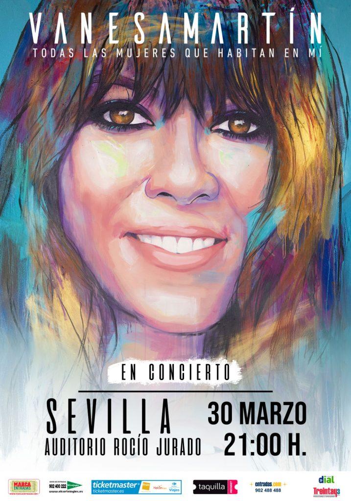 Vanesa Martín, Todas las mujeres que habitan en mí - Sevilla Marzo 2019