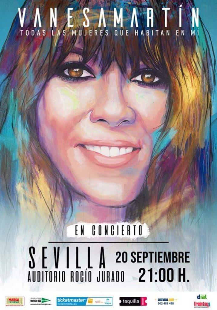 Vanesa Martín, Todas las mujeres que habitan en mí - Sevilla Septiembre 2019