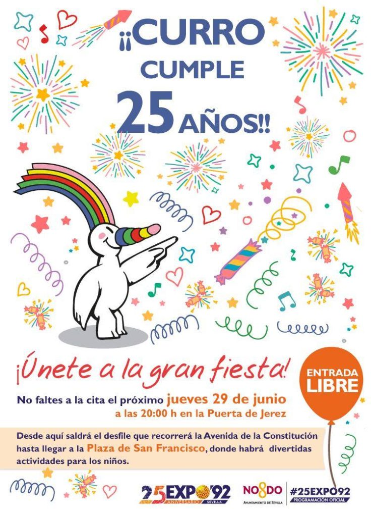 cumple-curro-25-años-plaza-san-francisco-sevilla-cartel