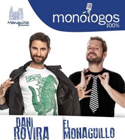 Dani Rovira y El Monaguillo – Monólogos 100% - Cartuja Center Sevilla