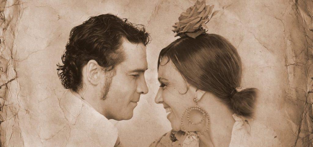 De sepia y oro. Flamenco Viene del Sur 2017. Teatro Central, Sevilla